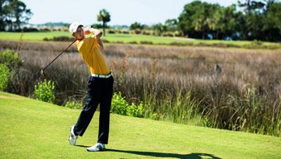Jekyll Island Golfer