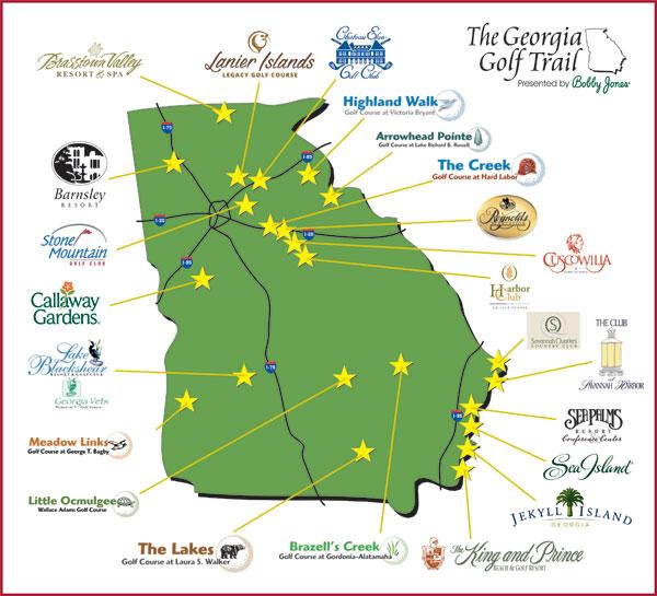Georgia Golf Trail