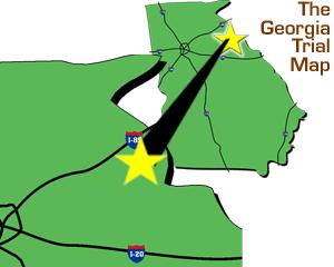 Brazzel's Creek Map