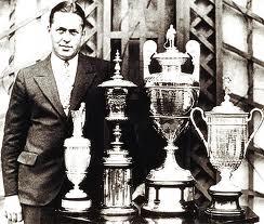 Bobby Jones - Grand Slam Trophies